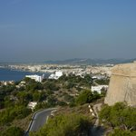View From Castle of Ibiza