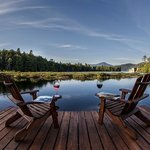 Relax by the Lake and enjoy our views of Whiteface Mountain.