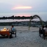 Sunset at the island View restaurant koh samui