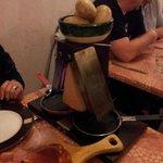 La raclette en marcha