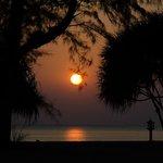 Sunset at Klong Dao Beach
