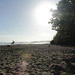 beach at morning