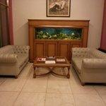 Salão do hotel