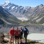 Aoraki/Mt.Cook from Sealy Tarns