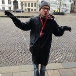 Our amazing walking tour guide ...Esben !!