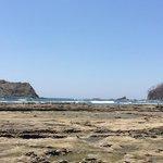 Playa Carillo at low tide