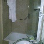 Baño pequeño; confortable si no apestara