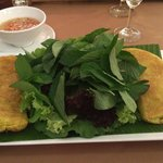the restaurant is nice - good traditional vietnamese food