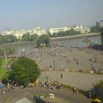 View from our Room - The Gateway of India & the sea!