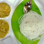 Idiappam and Kurma