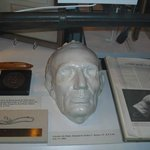 Abraham Lincoln's death mask...