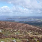 view over killarney from the top!