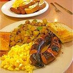 Kilbasa breakfast special