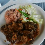 Brown Stew Chicken from Rondel