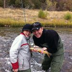 A day fishing with my son!