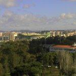 View across to the Football Stadium