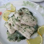 Fresh fish with Limo. Filetti Pesce Limone