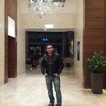 Me in sheraton 's lobby in feb 2014