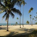 Front part of beach at Gran Melia