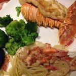 Prato com lagosta