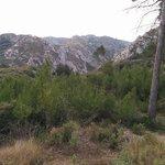 Mountain trail around Mas Bellevue