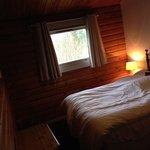 6 person lodge - Main bedroom