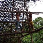 children at the Huaorani (Wao) community