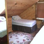 upstairs loft twin bed