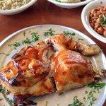 Half Chicken BBQ Meal