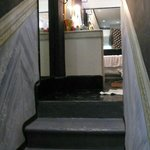 stairs to upstairs bathroom, cortez suite