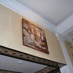 painting above dining room, cortez suite
