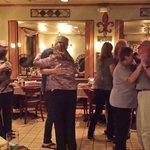 Dancing to Keith Disanti music