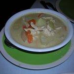 Coconut Soup (do not recall name)