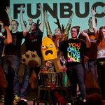 "Jet City Improv presents ""Funbucket."" Photo by Todd Gardiner."