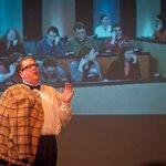 "Jet City Improv presents ""Upside Downton"" Photo by Todd Gardiner."