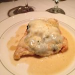 Wow! Yummy chicken with spinach and mozzarella special.