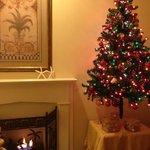Room 3, fire and Christmas