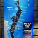 map of Fraser