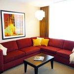 OneBedroom Suite Livingroom