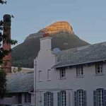 Dawn breaking at the Mount Nelson Hotel!