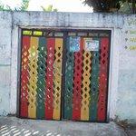 Doors to hostel