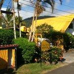 Isla Verde's main entrance/office
