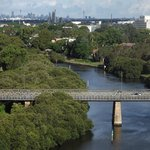 great view up the parramatta river