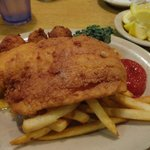 fried haddock special