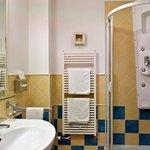 Classic Room Bathroom at Mamaison Hotel Andrassy