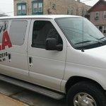 The Denny's van!