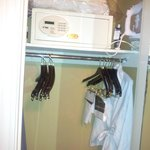 Safe in Closet