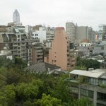 部屋(10階)からの眺めです。