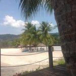 the beach at Langkawi Lagoon Resort