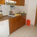 Well-appointed kitchenette, ideal for long stays